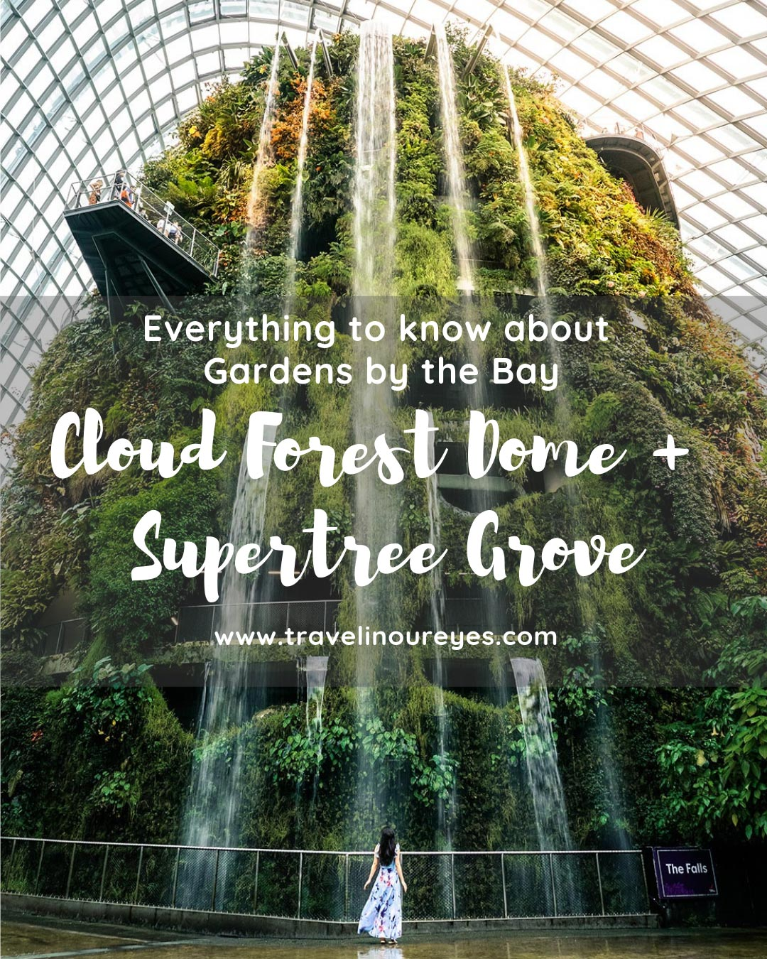 Gardens by the Bay, Supertree Grove + Cloud Forest Dome
