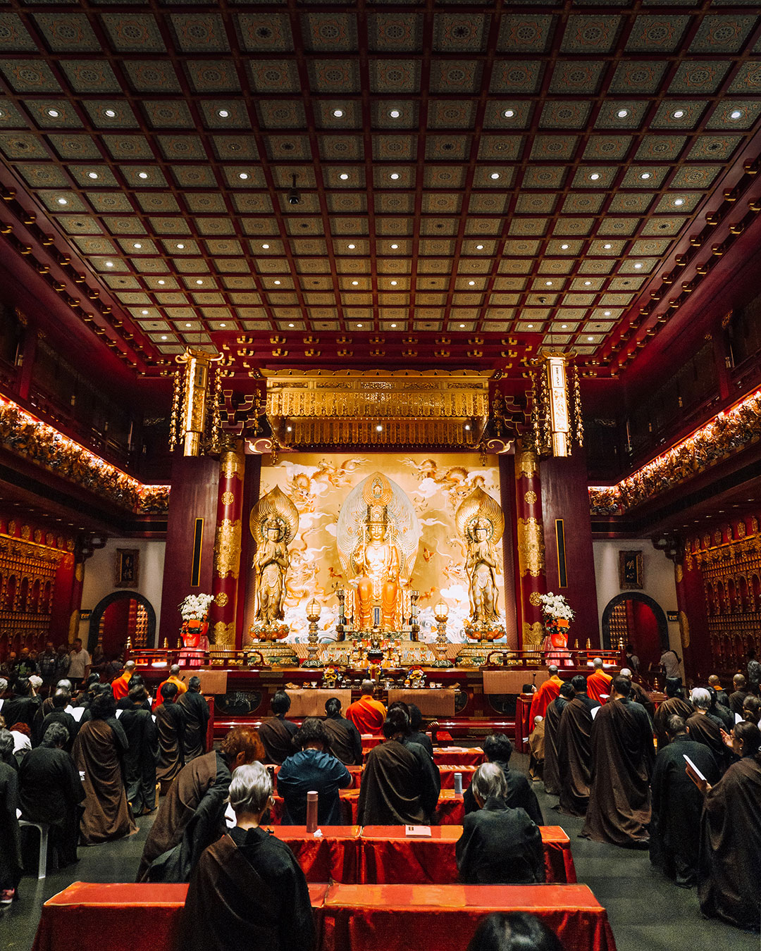 Buddhist Prayer Ceremony