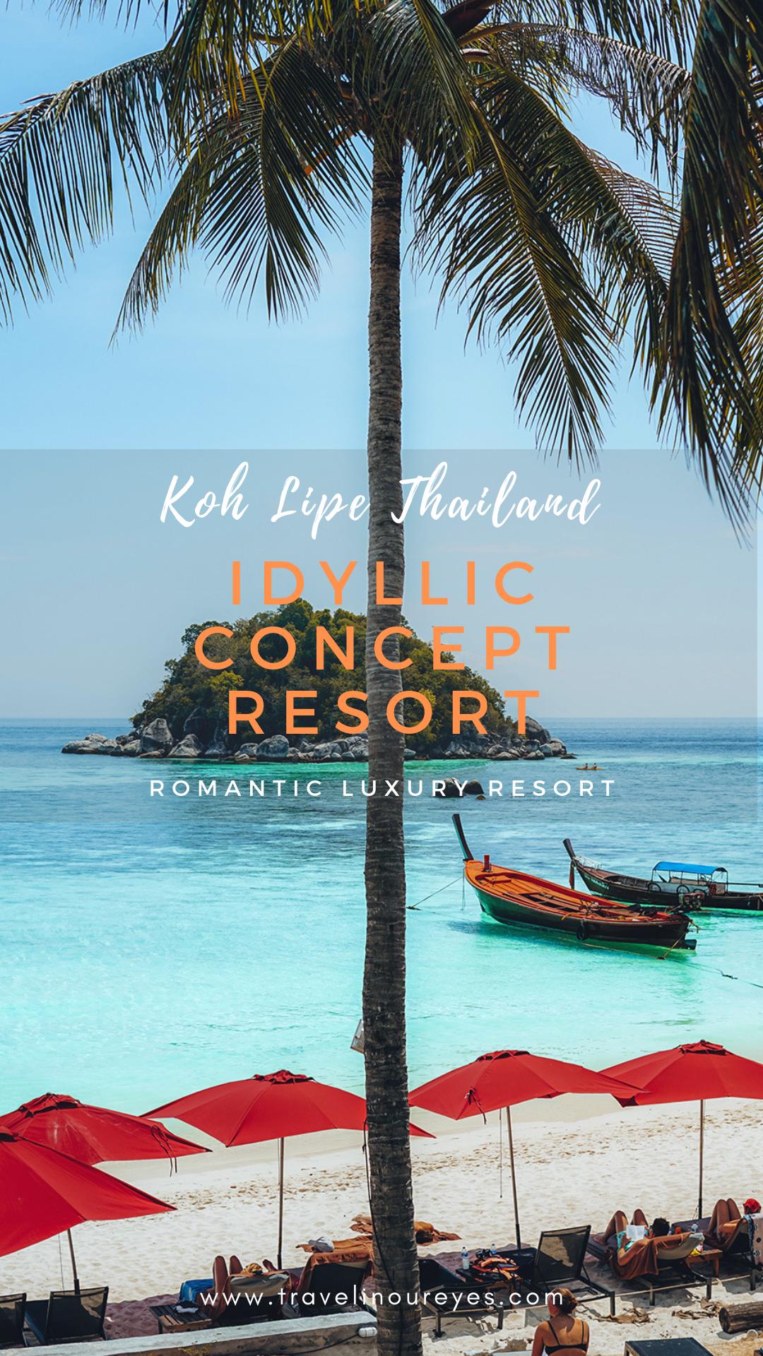 Idyllic Concept Resort in Koh Lipe, Thailand