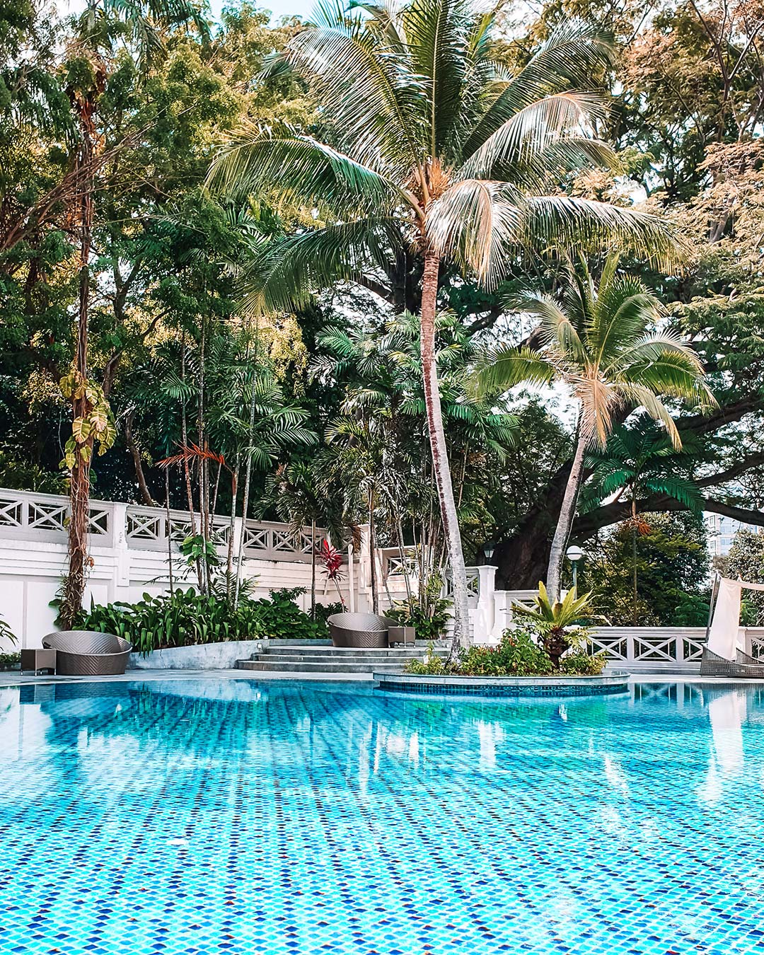 Mineral Pool at Hotel Fort Canning Singapore
