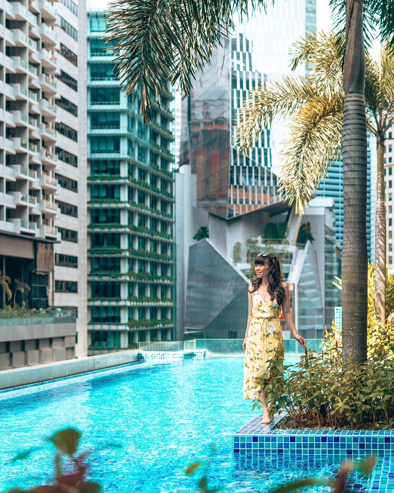 SO Sofitel Rooftop Infinity Pool